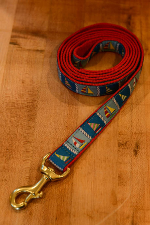 Up Country - Sailboats 6 Foot Dog Leash