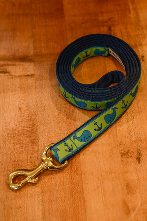 Up Country - Whale 6 Foot Dog Leash