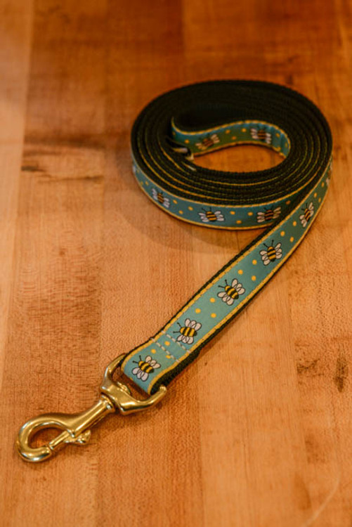 Up Country - Bumblebee 6 Foot Dog Leash