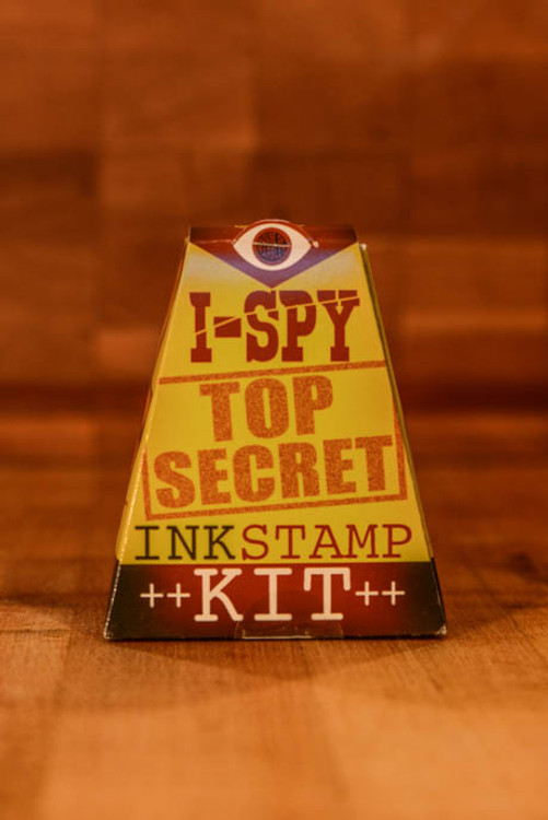 House of Marbles - I Spy Top Secret Ink Stamp Kit