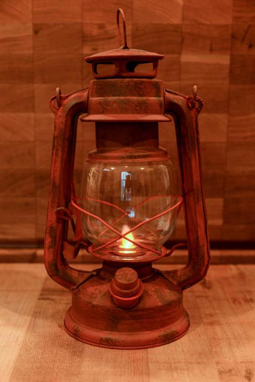 Rustic Electric Lantern