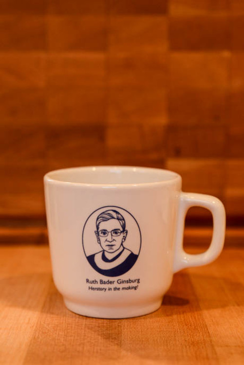 "Ruth Bader Ginsberg ""History in the Making"" Political Mug"