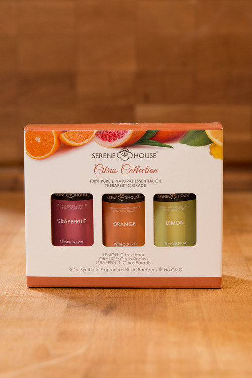 Serene House - Citrus Collection Essential Oils