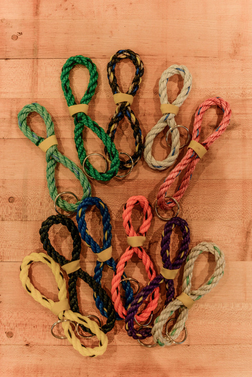 The Knotty Cod - Lobster Rope Keychain