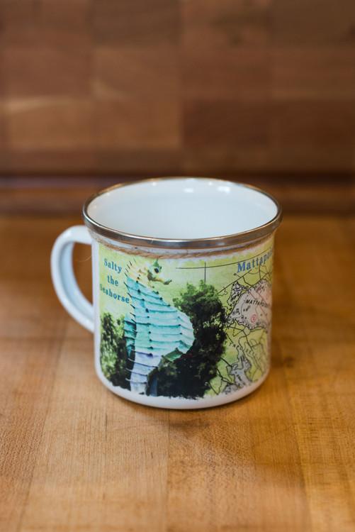 Salty the Seahorse Camp Mug