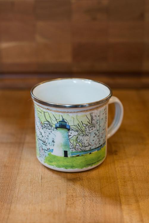Ned's Point Light Camp Mug