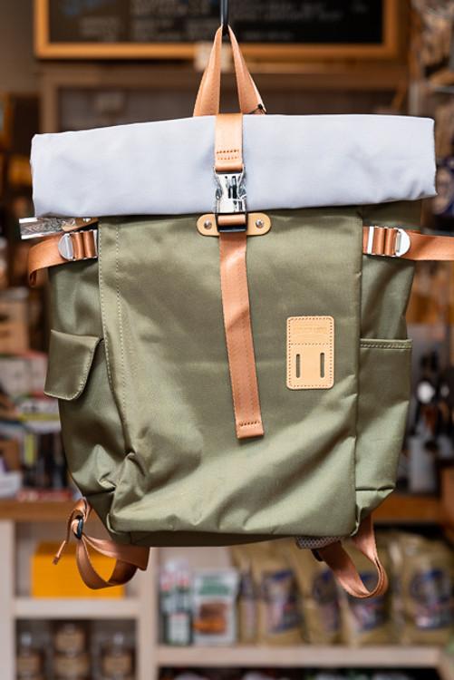 Harvest Label - Rolltop Backpack (Olive)