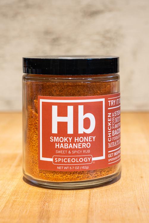 Spiceology - Smoky Honey Habanero Sweet & Spicy Rub