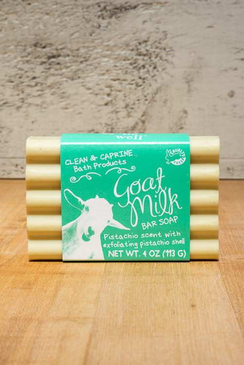 Simply Be Well - Pistachio Goat Milk Soap