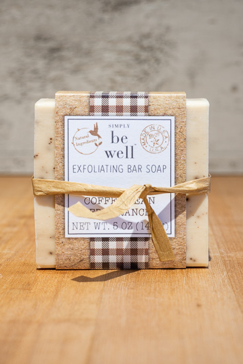 Simply Be Well - Coffee Bean Exfoliating Soap