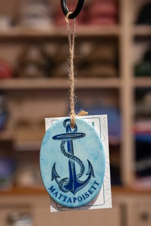 Mattapoisett Christmas Ornament - Mattapoisett Anchor