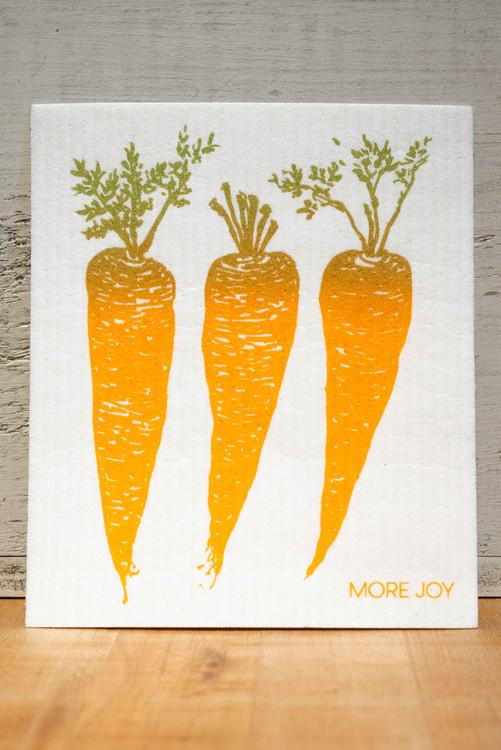 Sweetgum - Carrots Swedish Dishcloth