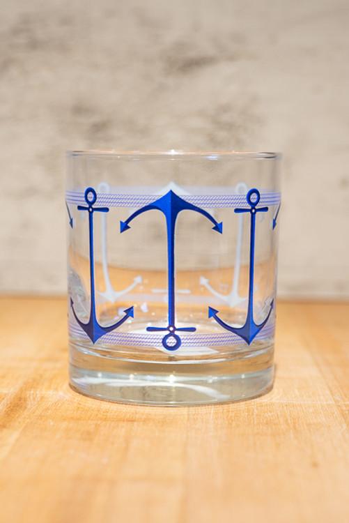 Anchors Aweigh Rocks Glass