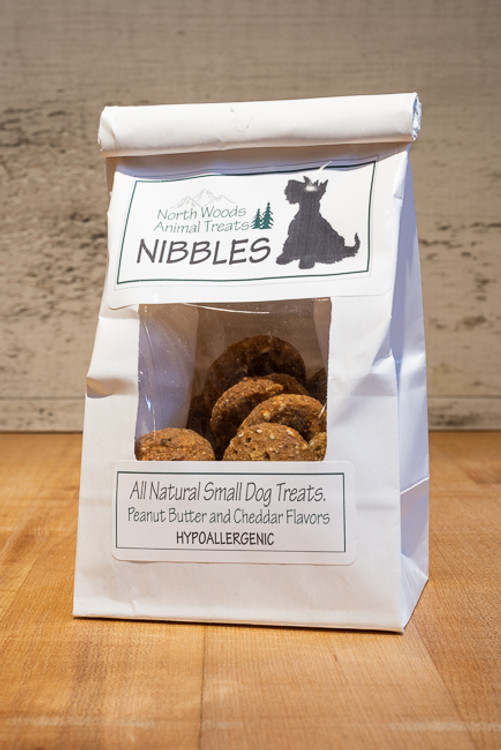 North Woods Animal Treats - Peanut Butter & Cheddar Nibbles