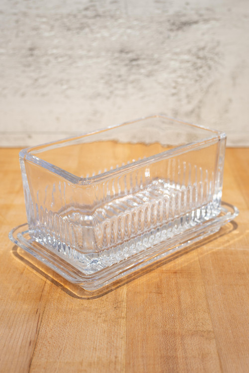 French Beurre Covered Butter Dish