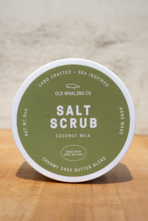 Old Whaling Co. - Coconut Milk Salt Scrub