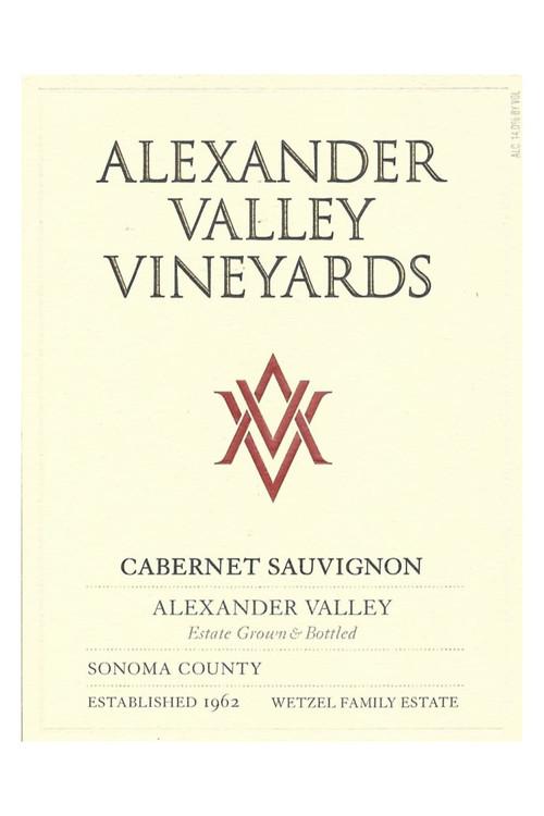 Alexander Valley Vineyard - Cabernet Sauvignon