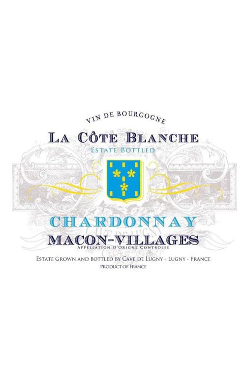Cave de Lugny Macon-Villages - La Cote Blanche Chardonnay