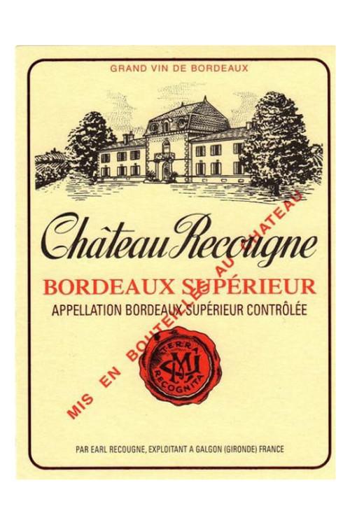 Chateau Recougne - Bordeaux Superieur
