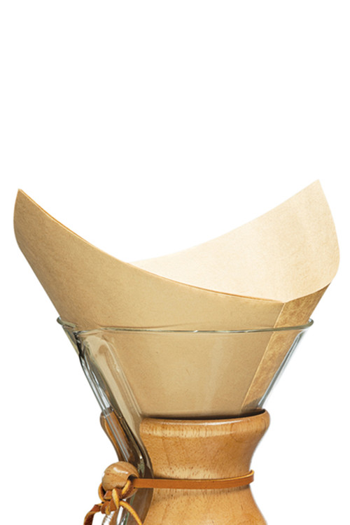 Chemex - Bonded Filters Pre-Folded Squares (Natural)