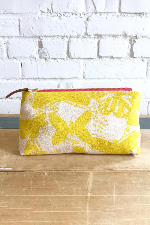 Erin Flett - Butterflies Makeup Zipper Bag