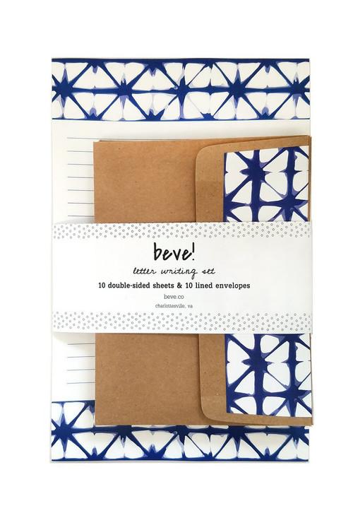 Beve! -  Shibori Letter Writing Set