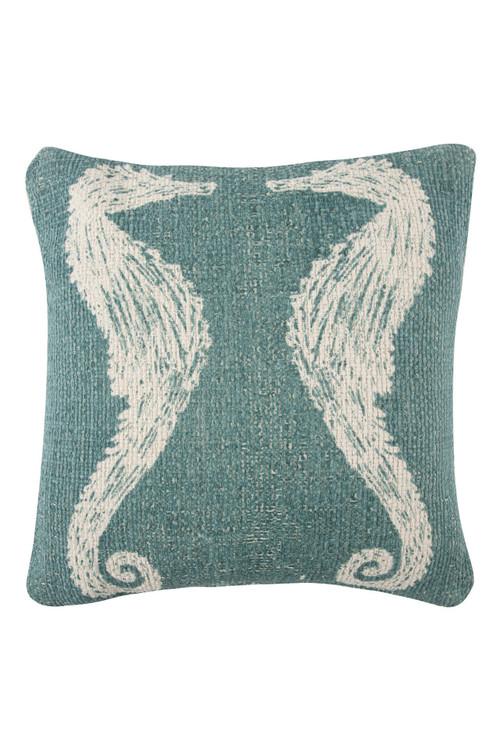 Thomas Paul - Seahorse Grain Sack Sketch Pillow