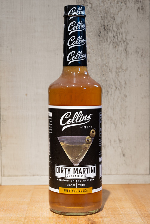 Collins - Dirty Martini Cocktail Mix