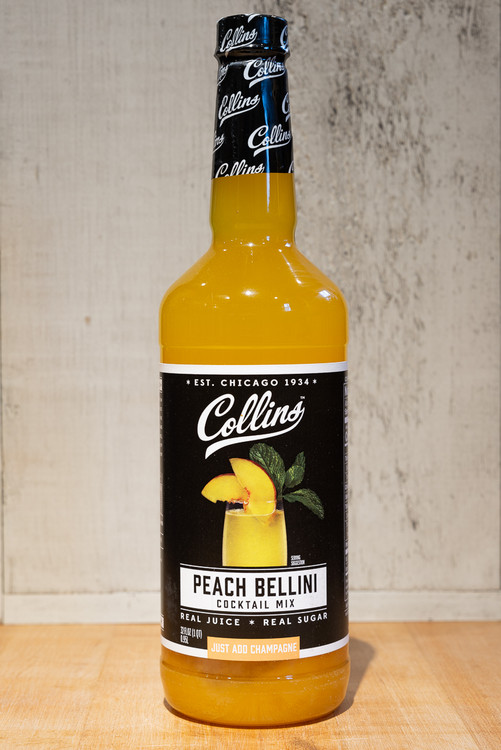 Collins - Peach Bellini Cocktail Mix