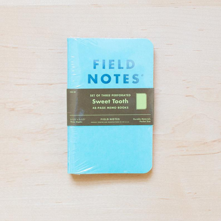 Field Notes - Sweet Tooth Set of 3 Notebooks