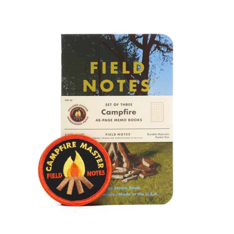 Field Notes - Campfire Set of 3 Notebooks