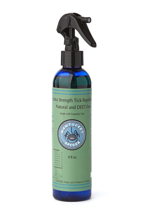 Nantucket Spider - Extra Strength Natural Tick Repellent Spray 8 oz