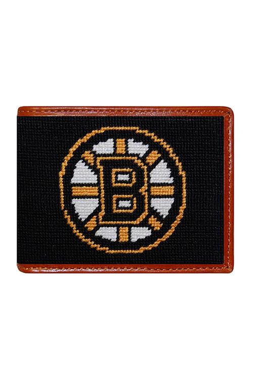Smathers & Branson - Boston Bruins Needlepoint Bi-Fold Wallet