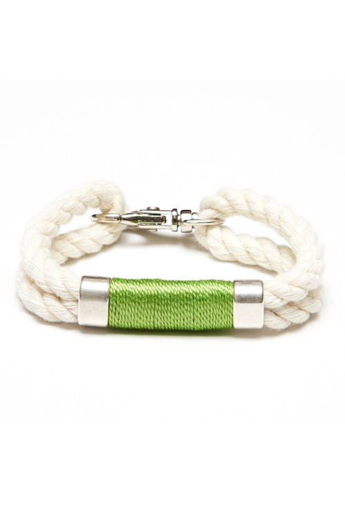 Allison Cole Jewelry - Tremont (Ivory/Lime/Silver)