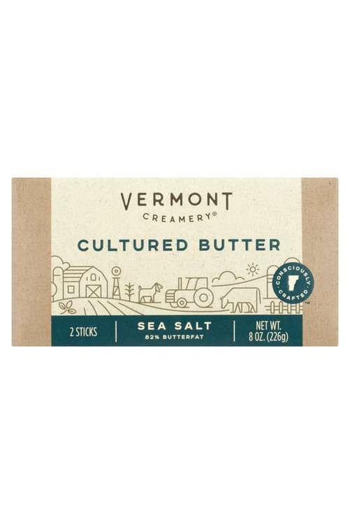 Vermont Creamery - Cultured Butter w/ Sea Salt