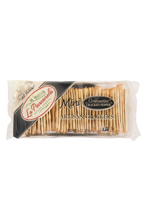 Croccantini - Mini Crackers w/ Cracked Black Pepper