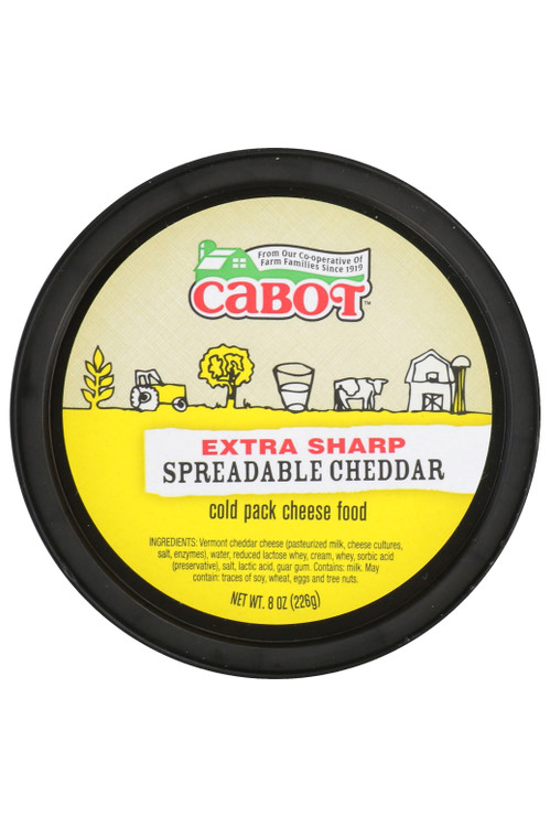 Cabot - Extra Sharp Spreadable Cheddar