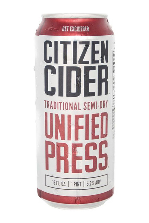 Citizen Cider - Unified Press (4pk)