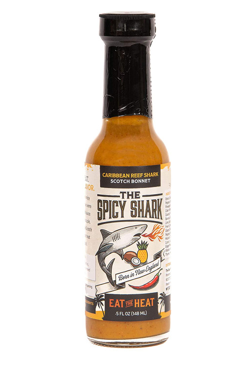 The Spicy Shark - Caribbean Reef Shark Bonnet Hot Sauce