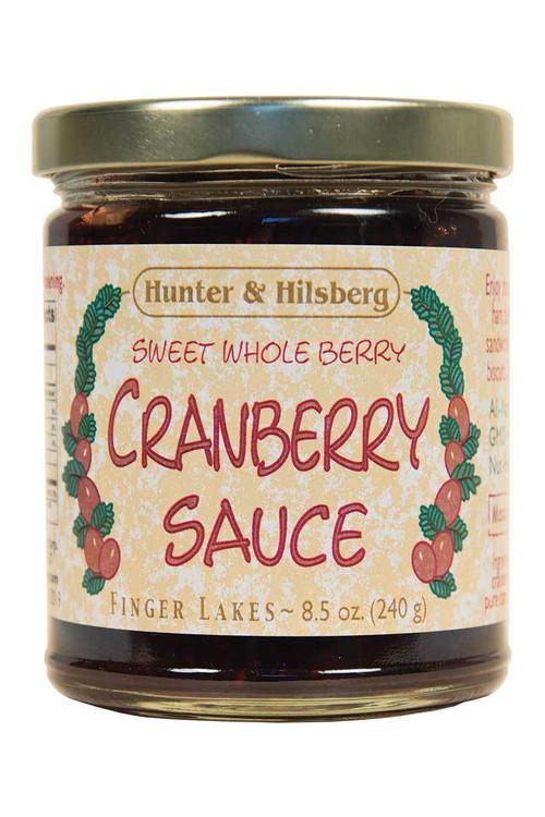 Hunter & Hilsberg - Sweet Whole Berry Cranberry Sauce