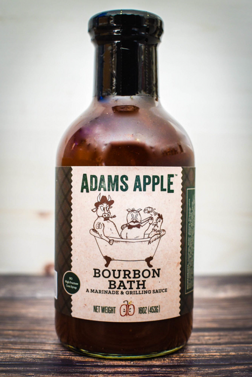 Adams Apple Co - Bourbon Bath Grilling Sauce
