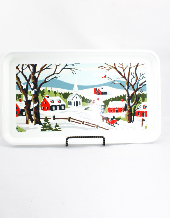 Finding Home Farms - Christmas Village Tray