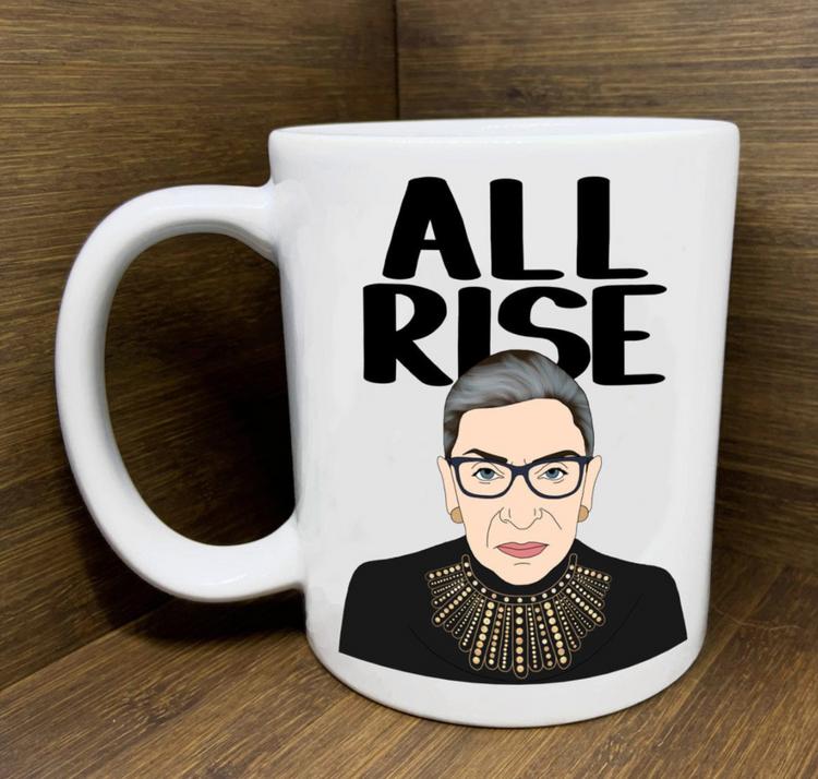 Citizen Ruth - RBG All Rise Mug