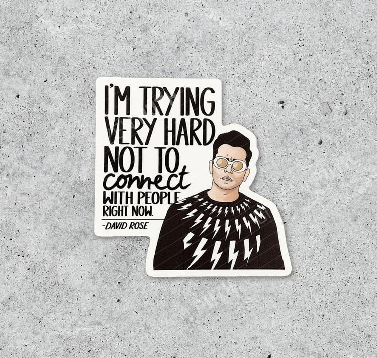 Citizen Ruth - Schitt's Creek David Sticker