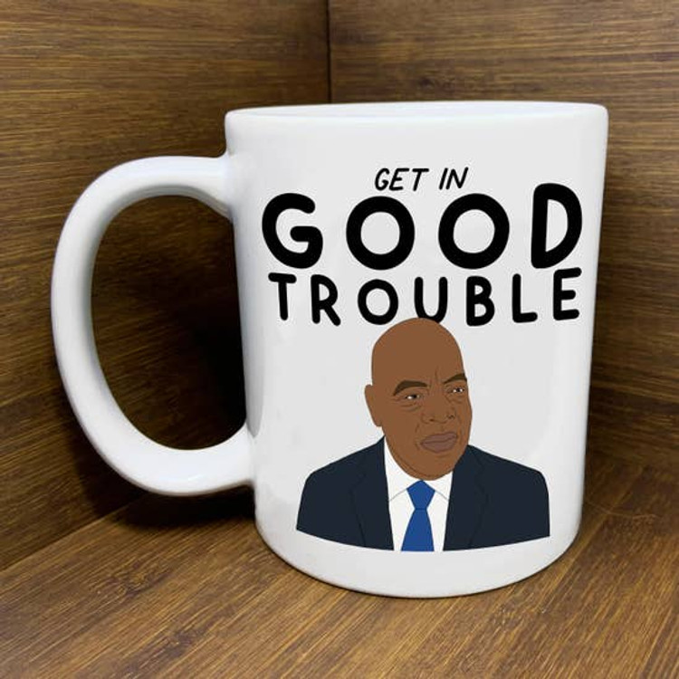 "Citizen Ruth - Sen. John Lewis ""Good Trouble"" Mug"