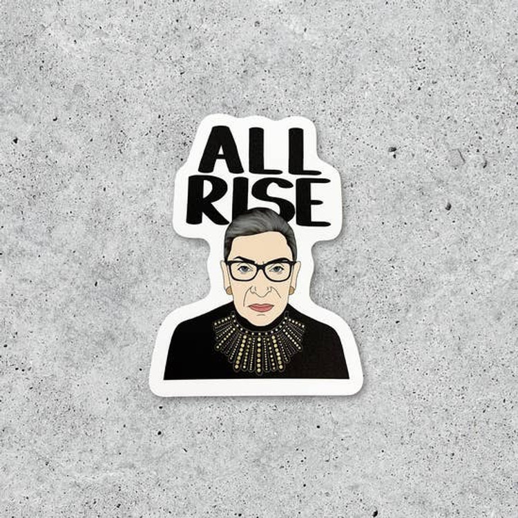Citizen Ruth - RBG All Rise Sticker