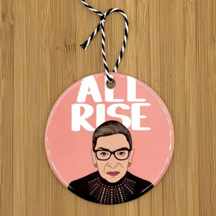 Citizen Ruth - RBG All Rise Ornament
