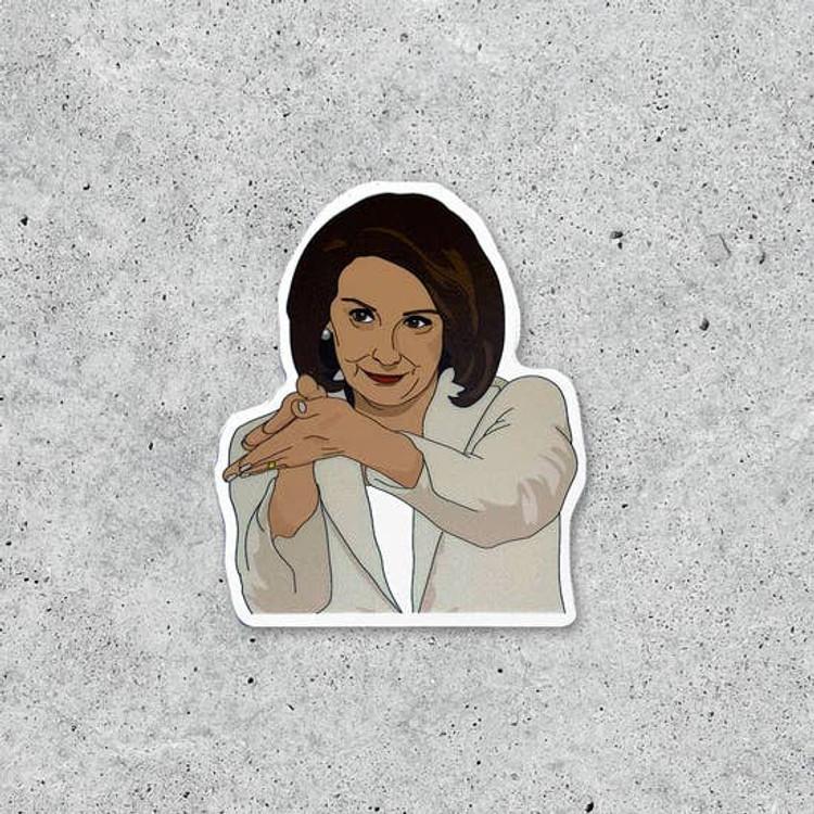 Citizen Ruth - Nancy Pelosi Clap Back Sticker