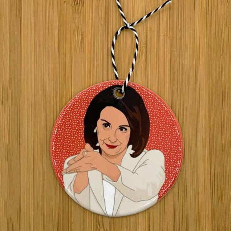 Citizen Ruth - Nancy Pelosi Clap Back Ornament