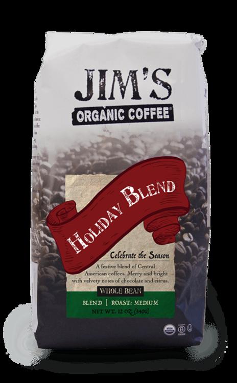 Jim's Organic Coffee - Holiday Blend
